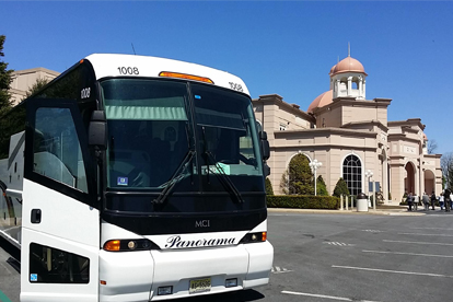 New Jersey church bus rentals