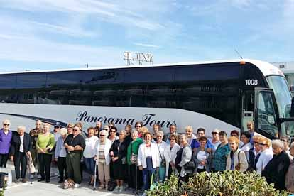 New Jersey Senior Tour Bus
