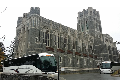 New Jersey Sightseeing Tour Bus